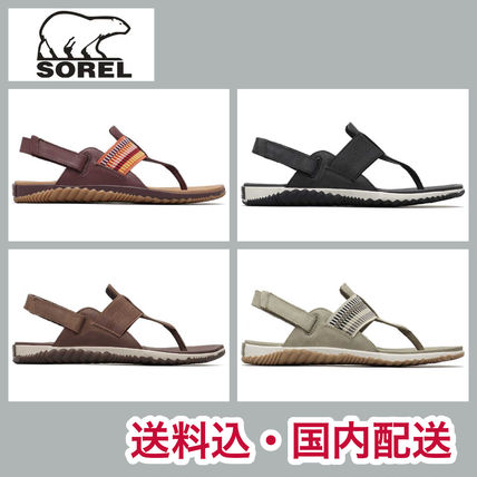 Casual Style Street Style Plain Leather Sport Sandals