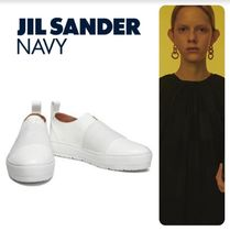JIL SANDER NAVY Low-Top Sneakers