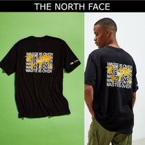 THE NORTH FACE Crew Neck Street Style Collaboration Cotton Short Sleeves