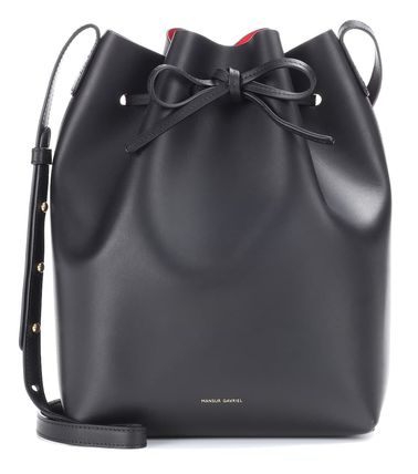 Casual Style Plain Leather Purses Crossbody Shoulder Bags