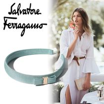 Salvatore Ferragamo Brass Elegant Style Hair Accessories