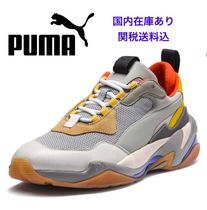 PUMA THUNDER SPECTR Leather Low-Top Sneakers