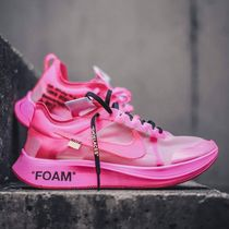 Off-White Street Style Collaboration Low-Top Sneakers