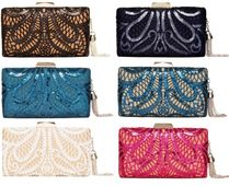 TADASHI SHOJI Flower Patterns Party Style Clutches
