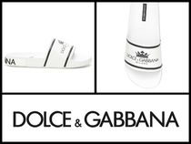Dolce & Gabbana Unisex Street Style Shower Shoes Shower Sandals