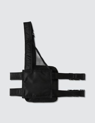 Unisex Street Style Plain Crossbody Bag