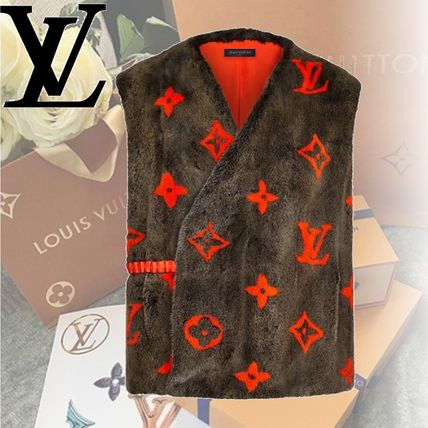 Louis Vuitton Vests & Gillets Monogram Vests & Gillets