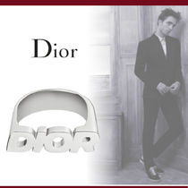 Christian Dior Unisex Silver Rings