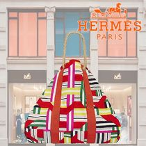HERMES Casual Style A4 Totes