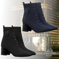 HERMES Leather Boots Boots
