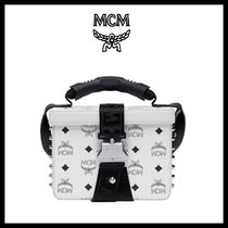 MCM Casual Style Unisex Street Style Shoulder Bags