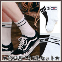 WV PROJECT Unisex Street Style Plain Undershirts & Socks
