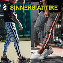 SINNERS ATTIRE Other Check Patterns Zigzag Street Style
