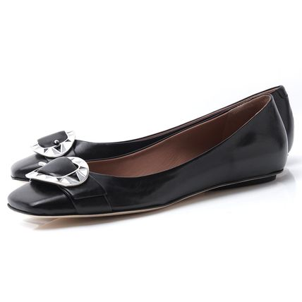 Leather Pumps & Mules