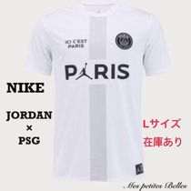 Nike Street Style Collaboration Cotton Short Sleeves Oversized