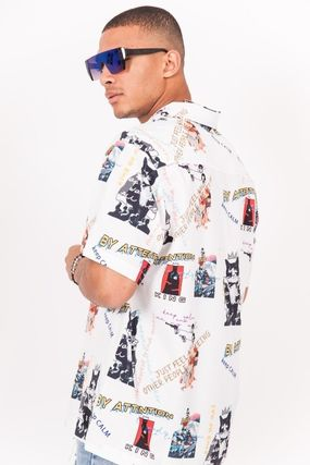 Street Style Short Sleeves Shirts