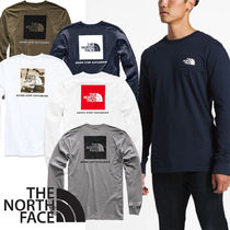 THE NORTH FACE Crew Neck Long Sleeves Long Sleeve T-Shirts