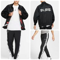Nike AIR JORDAN Unisex Street Style Collaboration Top-bottom sets
