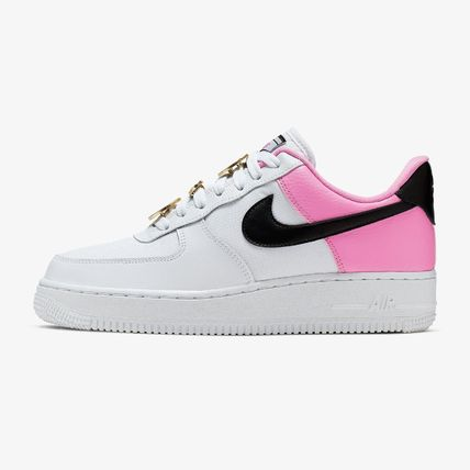 Nike AIR FORCE 1 2019 SS Casual Style Street Style Leather Low Top Sneakers (AA0287 107)