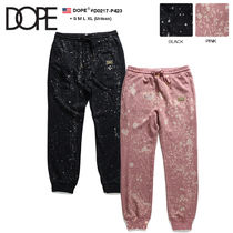 DOPE couture Unisex Sweat Street Style Pants