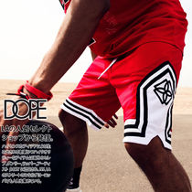 DOPE couture Printed Pants Unisex Nylon Street Style Bi-color Shorts