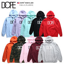 DOPE couture Unisex Sweat Street Style Long Sleeves Hoodies