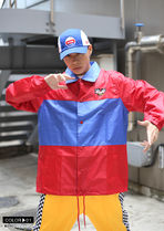 DOPE couture More Jackets Unisex Nylon Street Style Bi-color Windbreaker Logo Jackets 9