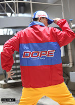 DOPE couture More Jackets Unisex Nylon Street Style Bi-color Windbreaker Logo Jackets 10