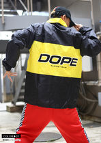 DOPE couture More Jackets Unisex Nylon Street Style Bi-color Windbreaker Logo Jackets 12