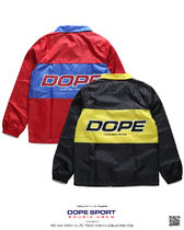 DOPE couture More Jackets Unisex Nylon Street Style Bi-color Windbreaker Logo Jackets 17