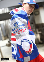 DOPE couture More Jackets Short Unisex Nylon Street Style Bi-color Windbreaker Logo 9