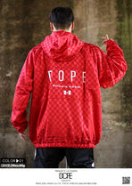 DOPE couture More Jackets Short Monogram Unisex Nylon Street Style Windbreaker Logo 5
