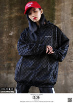 DOPE couture More Jackets Short Monogram Unisex Nylon Street Style Windbreaker Logo 8