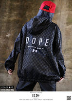 DOPE couture More Jackets Short Monogram Unisex Nylon Street Style Windbreaker Logo 9