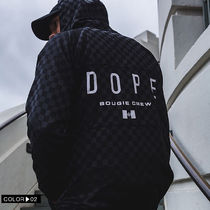 DOPE couture More Jackets Short Monogram Unisex Nylon Street Style Windbreaker Logo 10