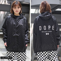 DOPE couture More Jackets Short Monogram Unisex Nylon Street Style Windbreaker Logo 11