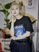 OPEN THE DOOR More T-Shirts Unisex Street Style Cotton Short Sleeves Graphic Prints 8