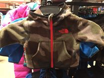THE NORTH FACE Khaki Baby Girl Outerwear