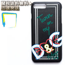 Dolce & Gabbana Heart Leather Smart Phone Cases