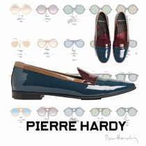 Pierre Hardy Moccasin Bi-color Plain Leather Loafer & Moccasin Shoes