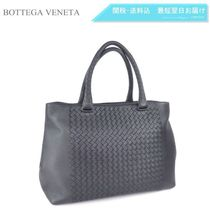 BOTTEGA VENETA A4 Plain Leather Totes