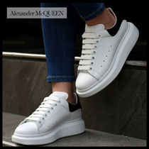 alexander mcqueen Casual Style Street Style Leather Low-Top Sneakers