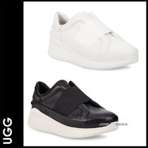 UGG Australia LIBU Plain Toe Casual Style Street Style Plain Leather