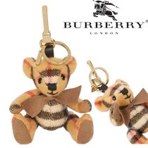 Burberry Other Check Patterns Unisex Keychains & Bag Charms