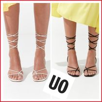 Urban Outfitters Casual Style Plain Block Heels Heeled Sandals