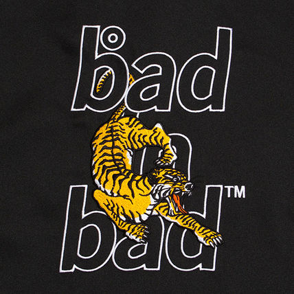 BADINBAD Shirts Unisex Street Style Plain Short Sleeves Shirts 13