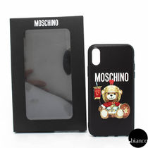 Moschino Unisex Other Animal Patterns Silicon Smart Phone Cases