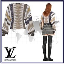 Louis Vuitton Casual Style Blended Fabrics Long Sleeves Cotton Sweaters