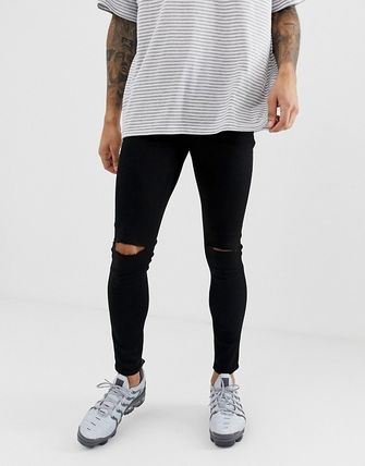 ASOS Denim Plain Skinny Jeans