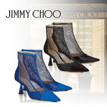 Jimmy Choo Plain Leather Party Style Ankle & Booties Boots